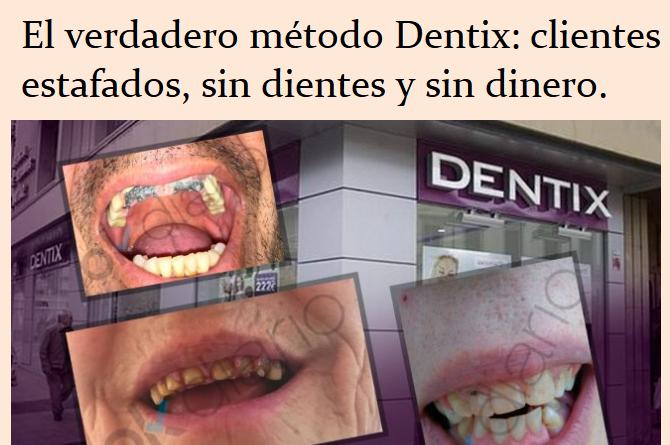 Clientes estafados el verdadero método Dentix