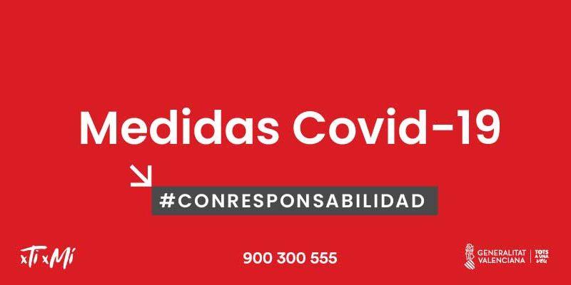 Medidas Covid Valencia